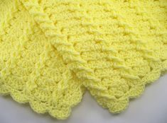 Ravelry: Lemon Twist Car Seat Baby Afghan pattern by the Jewell's Handmades  ~ Pattern to Purchase