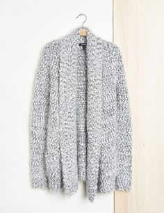 Cardigan maille poches fantaisies