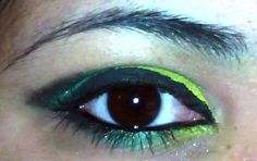 Ninja Eye Makeup | ninja turtle inspired eye makeup | Flickr - Photo Sharing!