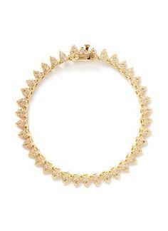 #covetmeCrystal pavé mini cone tennis bracelet #bracelet #women #covetme #eddieborgo