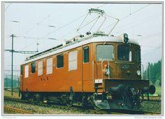 Switzerland #bls #railway #postcard #train #bahn #ferrovia #ansichtskarten #cartoline #cartepostale #locomotive #lokomotive