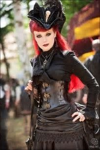 Image result for Gothic Steampunk Girls