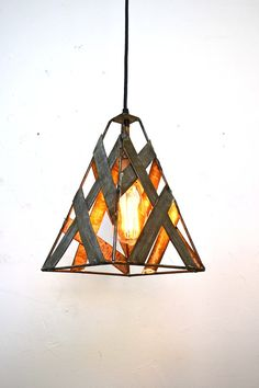 Looking for a totally unique and one of a kind pendant light? In our continuing effort to be environmentally conscious and recycle, we Wine Barrel Rings, Wine Barrels, Wine Cellar, I Like Lamp, Contemporary Pendant Lights, Pendant Lighting, California Wine, Safari, Candle Lanterns