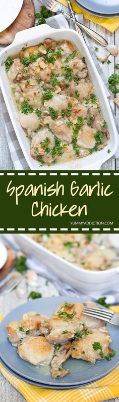 Pollo al Ajillo will surely become one of your favorite dinner recipes. This…