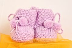 Baby Wool Boots - Violet  https://www.facebook.com/flocosdela