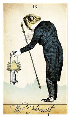 Isidore Tarot: the Hermit