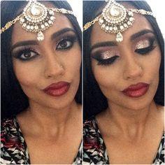 #makeup #beauty #lipstick #tikka #eyeshadow