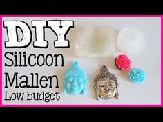 DIY LOW BUDGET SILICONEN MALLEN | Onzin of Zinnig | Craftmama - YouTube Easy Crafts, Diy And Crafts, Arts And Crafts, Diy Projects To Try, Craft Projects, Diy Silicone Molds, How To Make Diy, Mold Making, Diy Dollhouse