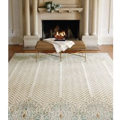Image result for Alanya Herringbone in #seafoam from Patterson Flynn Martin