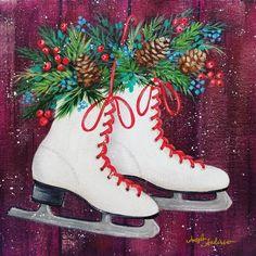 30 Best Winter & Christmas Acrylic Painting Tutorials ...