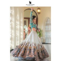 Latest Collection of Lehenga Choli Designs in the gallery. Lehenga Designs from India's Top Online Shopping Sites. Indian Gowns Dresses, Indian Fashion Dresses, Indian Designer Outfits, Indian Bridal Lehenga, Indian Bridal Outfits, Pakistani Bridal, Designer Bridal Lehenga, Pakistani Suits, Desi Wedding Dresses
