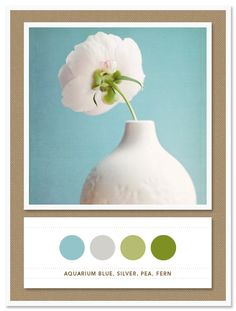 Color scheme for Belle's new room. Would also add pink, too. Colors: muted blue and green