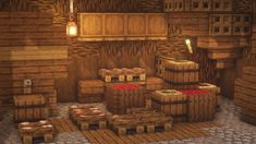 Medieval House Interior Art & Medieval House Interior in 2020 Minecraft designs Minecraft blueprints Minecraft houses