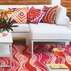 Playing with Color: Create a Vivid Outdoor Room | Frontgate Blog