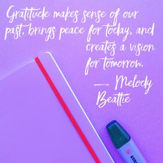 A new gratitude quote on Thankful Thursday!                              …