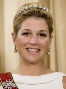 Dutch Diamond Bandeau Tiara worn by CP Maxima.  Royal and Historic Jewelry - Page 3 - the Fashion Spot