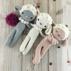Un doudou mouton en crochet - Marie Claire Idées