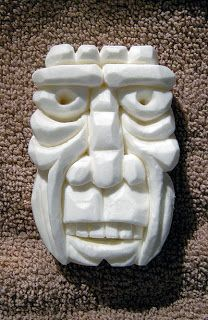 Cameo Zoe: soap carving...