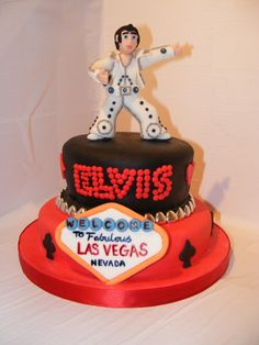 las vegas elvis birthday cake - Google Search