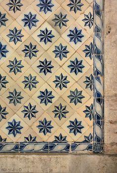 Azulejos de Lisboa, Lisbon tiles, Portugal.