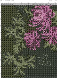 Just Cross Stitch, Cross Stitch Flowers, Ribbon Embroidery, Cross Stitch Embroidery, Cross Stitch Designs, Cross Stitch Patterns, Flowering Trees, Chrysanthemum, Couture
