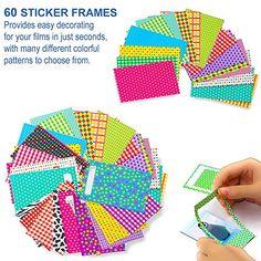 Fuji Instax Mini, Fujifilm Instax Mini, Emoji Photo, Instax Camera, Colorful Frames, Instant Film Camera, Incredible Gifts, Color Filter, Paper Frames