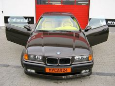 BMW E36 M3 pickup el camino 3 series black with yellow interior