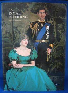 Official Book Charles Diana Royal Wedding Fab Photos 1981 Lady Diana Programme