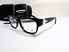 Chrome Hearts Happy Valley Eyeglasses in BK Sale Online