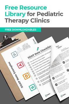 A collection of free digital guides, ebooks, and resources for pediatric therapy clinics. By Fusion Web Clinic, the only clinic management software made just for pediatric therapists.
