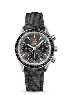 Omega Speedmaster Date / Day-Date Chronograph 40 mm Date : Steel on Coated Nylon Fabric 323.32.40.40.06.001