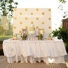 mint green dessert tables | Pink, Gold and Mint Baptism Party