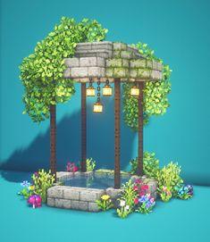 Villa Minecraft, Minecraft Garden, Minecraft House Plans, Minecraft Mansion, Minecraft Cottage, Minecraft House Tutorials, Cute Minecraft Houses, Minecraft Room, Minecraft House Designs
