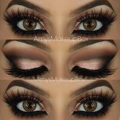this is absolutely beautiful. difficult to go wrong with a classic warm smokey eye and massive lashes. love!!