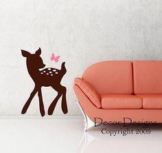 Bambi Vinyl Wall Decal Sticker