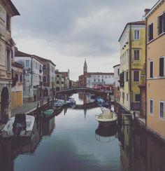 Chioggia #veneto #tovisit #beautiful #water    #cloud #venice #venezia #places #amazing