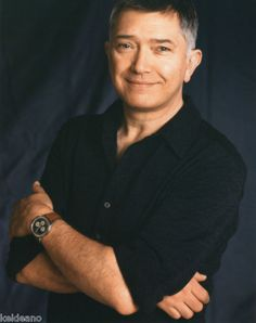 Very handsome and what a wonderful smile Martin Shaw has.
