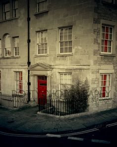 Red Door,  Bath England