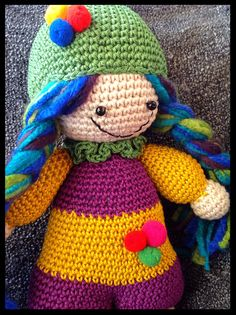 #crochet doll# amigurumi#
