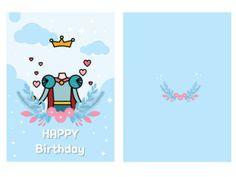 [made me] 2018 생일카드 : 네이버 블로그