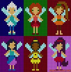 Fairy Disney cross stitch.