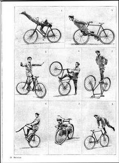 Bicycle stunts