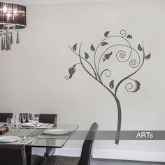 (2472n) Nálepky na stenu - Stromový ornament | ARTSABLONY.SK