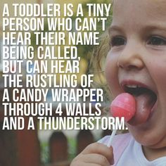 Toddlers - they're tiny conundrums! Lol                                                                                                                                                      More