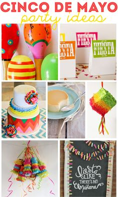 Throw the Perfect Cinco de Mayo party this year!! Lots of awesome tips for decor and recipes! @The Crafting Chicks