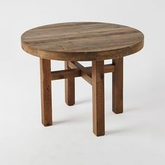 """Emmerson™ Reclaimed Wood Round Dining Table; 42"""" diameter x 30""""high"""
