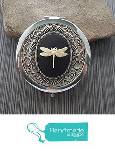 Handmade Dragonfly Compact Mirror from Urban Metal Designs https://www.amazon.com/dp/B01BCWE758/ref=hnd_sw_r_pi_dp_jA8FxbYAEPS7Z #handmadeatamazon