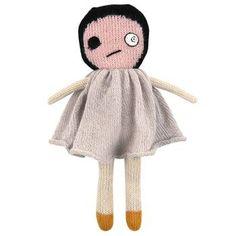 bad eye lily - lucky boy sunday-OMG it's a doll of me!! Same bad eye! LOL!