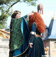 Merida was crowned the 11th Disney princess at the Magic Kingdom