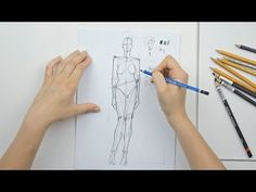 ▶ How to do fashion sketches step by step - YouTube